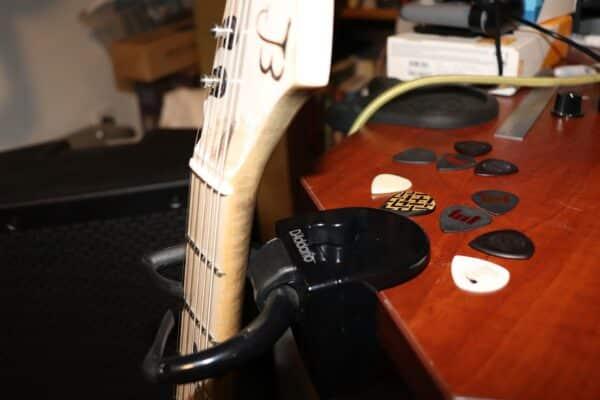 Guitar Crate Desk Stand