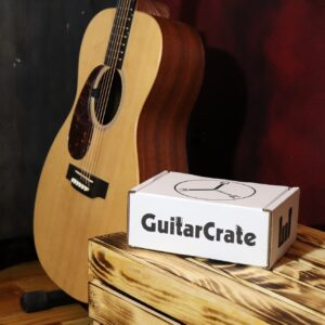Guitar Crate Acoustic-Subscription Box for Guitar Players