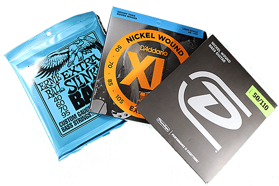 Bass guitar strings offered by Guitar Crate